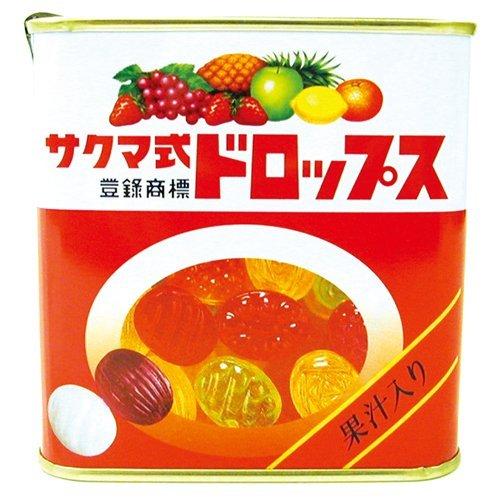 佐久間製菓 サクマ式缶ドロップス 75g