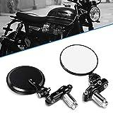 Aolead Specchietti Moto 7/8'' Universal Moto Specchio 22mm Manubrio Fine per Bike Cruiser ...