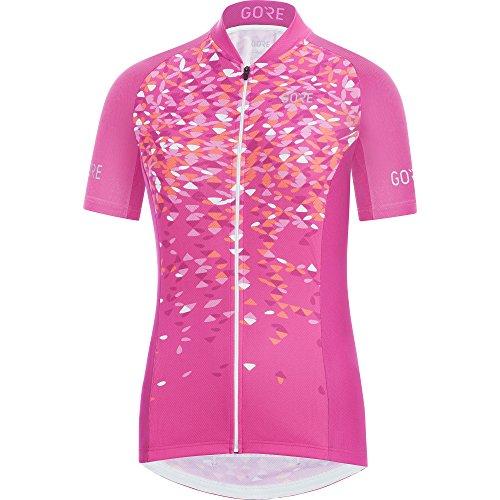 Gore Wear, Mujer, Maillot Transpirable de Manga Corta para Ciclismo, Gore C3 Women Petals Jersey, 100189