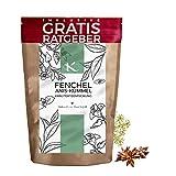 Fenchel Anis Kümmel Tee lose 100g Kräutertee natürlich bekömmlich Fencheltee