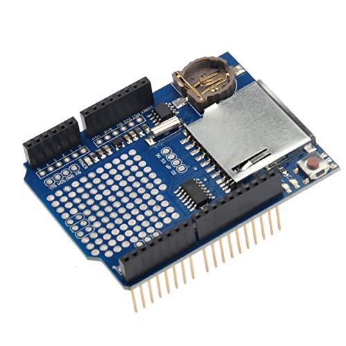 Registrador de datos de registro de módulo PIXNOR grabador de Shield para Arduino UNO de tarjetas SD