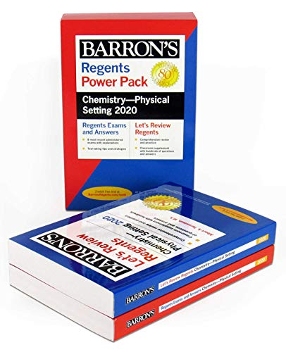 Compare Textbook Prices for Regents Chemistry--Physical Setting Power Pack 2020 Barron's Regents NY  ISBN 9781506253978 by Tarendash M.S., Albert S.