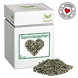 TEALAVIE - Grüner Tee lose   Japan's Hausgarten - feinherb leicht würzig   100g Dose loser Grüntee