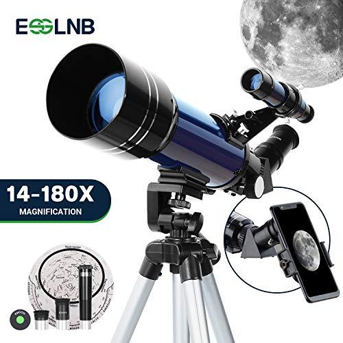 ESSLNB Telescopios Astronomicos 70mm Telescopio Niños