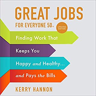 Great Jobs for Everyone 50 +, Updated Edition audiobook cover art