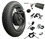 20inch4.0 3000W Electric Fat Bike Conversion kit with tire, Sabvoton Programmable Controller, TTFT 750C Display, 7- Speed Freewheel, and Twist Throttle (Without Display)