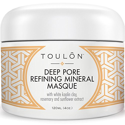 Kaolin Clay Mask for Face with White Kaolin Mineral Clay Soft Pure Healing Mask with Minerals to Reduce Wrinkles Rid Blackheads amp Acne amp Detox Skin  Improve Complexion for Women or Men