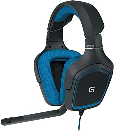 Logitech G430 Gaming Headset per PC Gaming con 7.1 Dolby Surround, nero/blu (Color : Blue) - Trova i prezzi più bassi