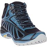 Merrell Damen Siren Edge 3 Mid Wp Walking-Schuh, Schwarz Nero Blue, 42 EU
