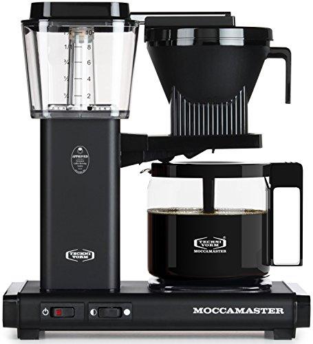 Technivorm Moccamaster 59656 KBG, 10-Cup Coffee Maker, 40 oz, Matte Black