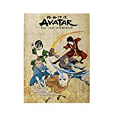 ETONKIDD Collage 500 Piece Customized Jigsaw Puzzle for Kids Adults Families, Decompression Toys, Avatar The Last Airbender Anime Poster Wooden Picture Puzzle Game for Home Decor Wall Art Vertical