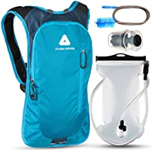 JTRYBE Hydration Pack for Running, Biking with Hydration Bladder 2L. Awesome Water Backpack for Hiking. Bonus Bite Valve and Brush. Great Running Hydration Backpack for Women Men
