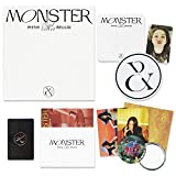 RED VELVET - IRENE & SEULGI 1st Mini Album - MONSTER [ MIDDLE NOTE ver. ] CD + Photobook + Lyrics Book + Folded Poster(On Pack) + Guarantee&Post&Photo Card + OFFICIAL POSTER + FREE GIFT