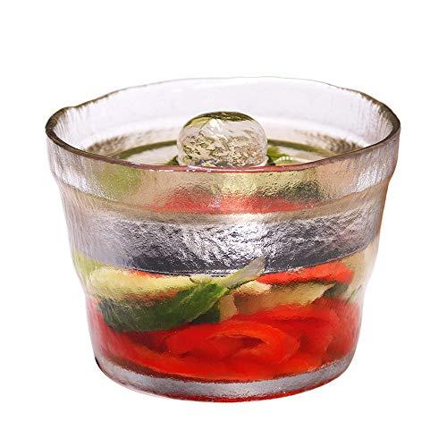 OnePine 650ml Tarro de Cristal Fermentación Tarro con Tapa para fermentar Alimentos