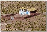 Puzzle- Atacama Chile Rompecabezas para Adultos Niños 1000 Piezas Juego de Rompecabezas de Madera para Regalos Decoración del hogar