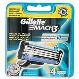 Gillette Lame da Rasoio - Confezione da 4 lame