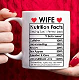 Valentines Day Gifts for Wife from Husband, Happy Anniversary Gifts for Her, Wife Birthday Gifts Ideas, Mothers Day Gifts for Wife, Best Wife Ever Gifts, Romantic Wife Christmas Gifts Coffee Mug 11oz