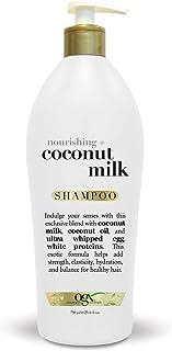 OGX Salon Size Nourishing Coconut Milk Shampoo With Pump, 25.4 Ounce