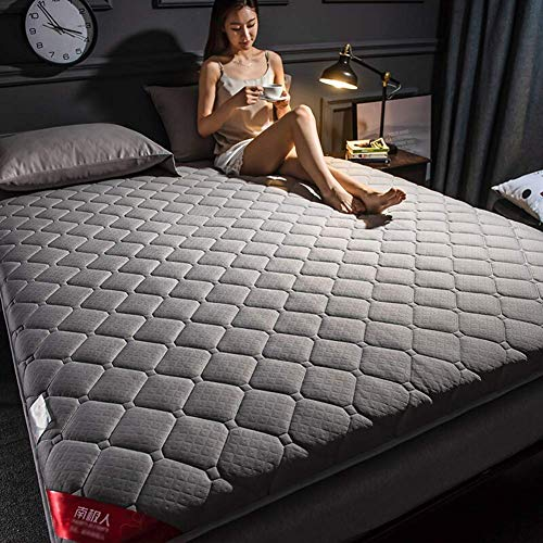 Colchones de futón de Piso Grueso, colchón Plegable, colchón de Dormitorio Ultra Suave, Cubierta de colchón de Fibra, colchón de Camping portátil, colchón de Dormir para niños, sofá Cama, Tumbona, 15