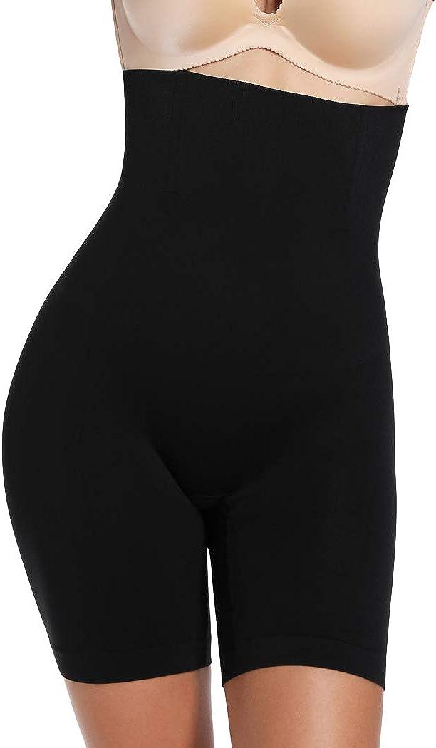 Thigh Slimmer Shapewear for Women Tummy Control High Waist Body Shaper Shorts Butt Lifter Panties