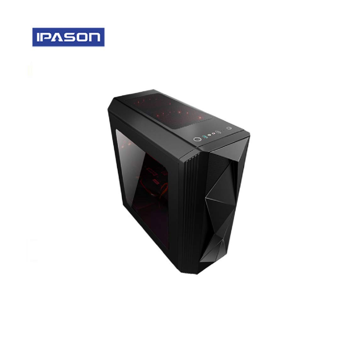 Ipason - PC Gamer (i7 9700, GTX1660 6GB, SSD 240, 1TB, 16GB 2666 + Windows 10) pc Gamer, pc Gaming, Ordenador de Juegos (Rojo): Amazon.es: Informática