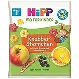 Hipp Knabberprodukte, Knabber Sternchen mit Apfel, Orange und Johannisbeere, 9er Pack (9 x 30 g) -