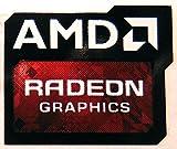 AMD Original Radeon Graphics Sticker 16 x 20mm [778]