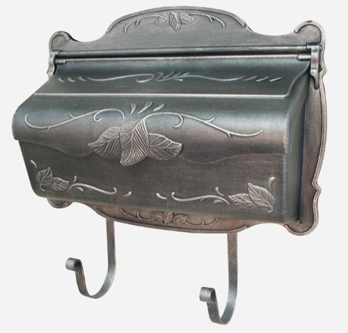 Special Lite Floral Horizontal Mailbox - Swedish Silver