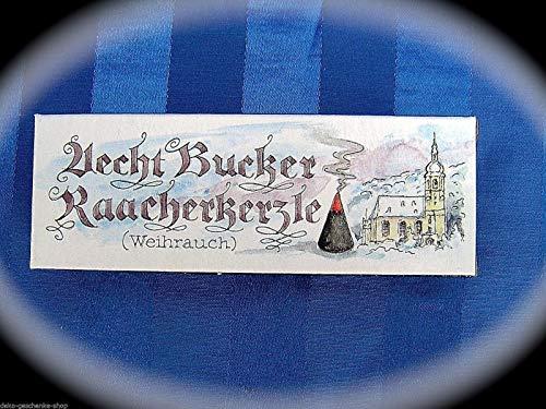 Bucker Original Raacherkerzle Räucherkerzen Räucherkegel Weihrauch 80029