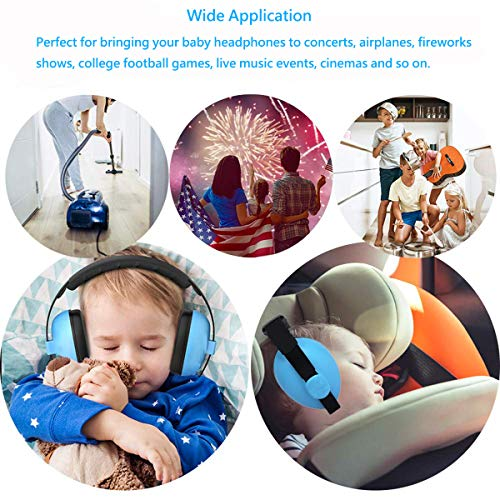 Noise Cancelling Headphones Baby Infant Ear Protection / 0-18 Months/Baby Hearing Protection Ear Muffs