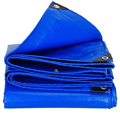 LXF JIAJU Impermeable Azul - Coche Barco Techo Cubierta De La Lluvia - Camping De Transporte Toldo - Azul, Anti-UV, Anti-corrosión (Color : 3MX3M)