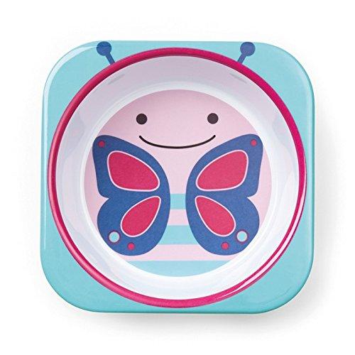Skip Hop Baby Bowl: Dishwasher Safe Zoo Bowl, Butterfly