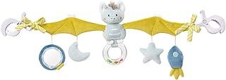 Fehn 065114 Kinderwagenkette Fledermaus – Mobile-Kette mit niedlichen Figuren für Babys und Kleinkinder ab 0 Monaten – Länge: 48 cm