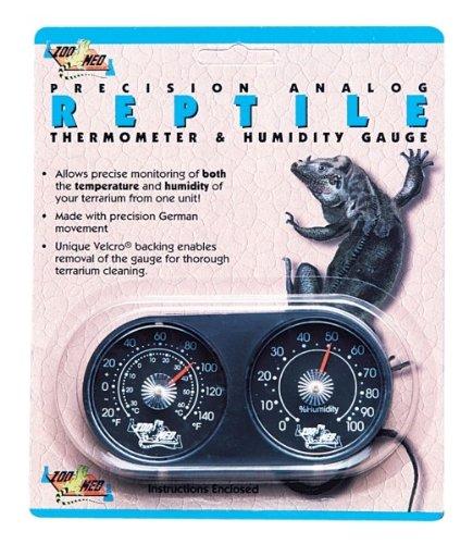 ズーメッドジャパン レプタイル アナログ温湿度計