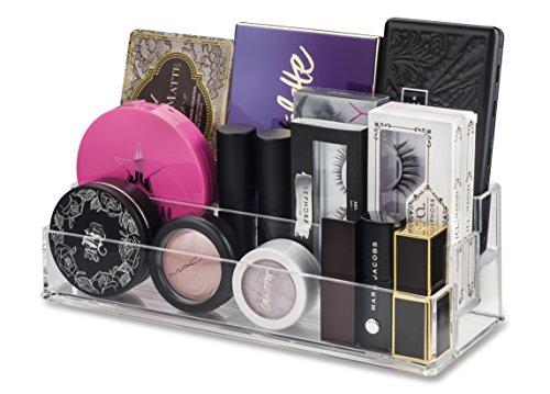 BY ALEGORY byAlegory Organisateur de Maquillage Acrylique à Plusieurs Niveaux pour Petites palettes | Stockage à 3 Niveaux pour Le Stockage de la beauté de la Palette de fards à paupières cosmétiques