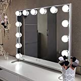 WONSTART Hollywood Espejo Maquillaje con luz,Espejo...