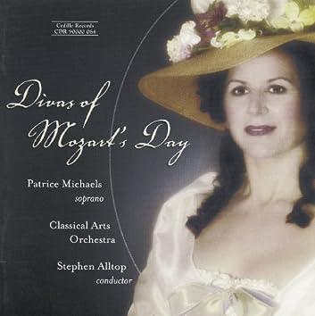 Divas Of Mozart's Day: Arias Written for Catarina Cavalieri, Nancy Storace & Others