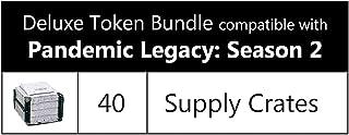 Deluxe Token Bundle Compatible with Pandemic Legacy: Season 2 (Set of 40)