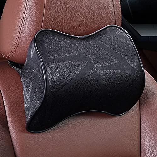 JONJUMP Almohada de coche de espuma de memoria almohada de cuello cintura trasera asiento asiento asiento almohada apoyo coche accesorios interior