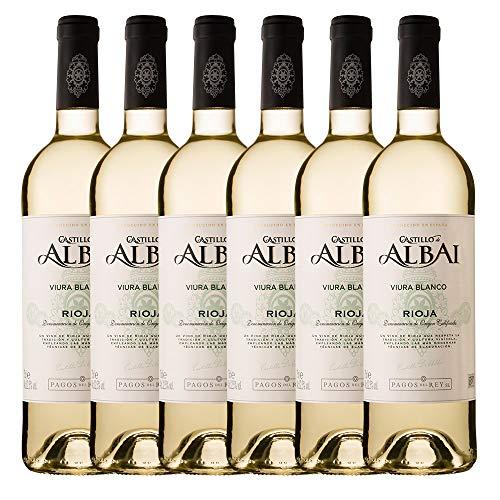 Castillo Albai Blanco - 6 botellas x 750ml - Total:4500ml