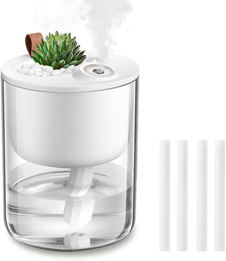Humidifiers DCMEKA Mini Small Humidifier USB Directly managed store Bedroom for Cool Max 88% OFF