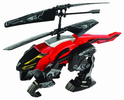 Silverlit Heli Beast 2-Kanal-i/R, Fernbedienung Hubschrauber, DASS Spaziergänge und Fliegen (farblich Sortiert)