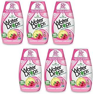 Sweetleaf Stevia Natural Water Drops Raspberry Lemonade, 1.62 Ounce (Pack of 6)