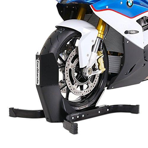 Motorradwippe Vorderrad 21 für Anhänger ConStands Easy Plus Schwarz Transport-Ständer auch Hinterrad