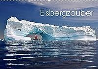 Eisbergzauber (Wandkalender 2022 DIN A2 quer): Eine Zauberlandschaft aus Eis (Monatskalender, 14 Seiten )