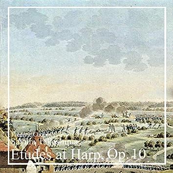 Études at Harp, Op. 10