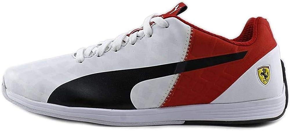 Indiferencia diseño Producto  Amazon.com | PUMA New Men's Evospeed 1.4 SF Sneaker White/Rosso Corsa 8 |  Shoes
