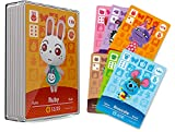 30 Pcs ACNH NFC Tag Mini Game Rare Character Villager Cards for New Horizons, Animal Crossing Game Cards for Switch/Switch Lite/Wii U with Storage Case