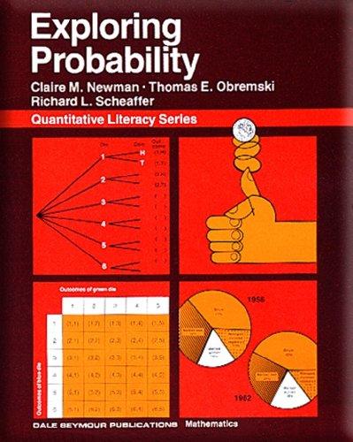 01701 QUANTITATIVE LITERACY SERIES: EXPLORING PROBABILITY STUDENT       EDITION