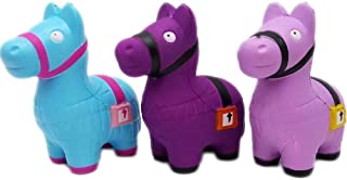 ALLYK 3 Packs Llama Squishies Squeeze Soft Jumbo Toy for Stress Relief Kawaii Gift Decorative Props Slow Rising Scented Squishy Video Games Fans (Pack Squishies)